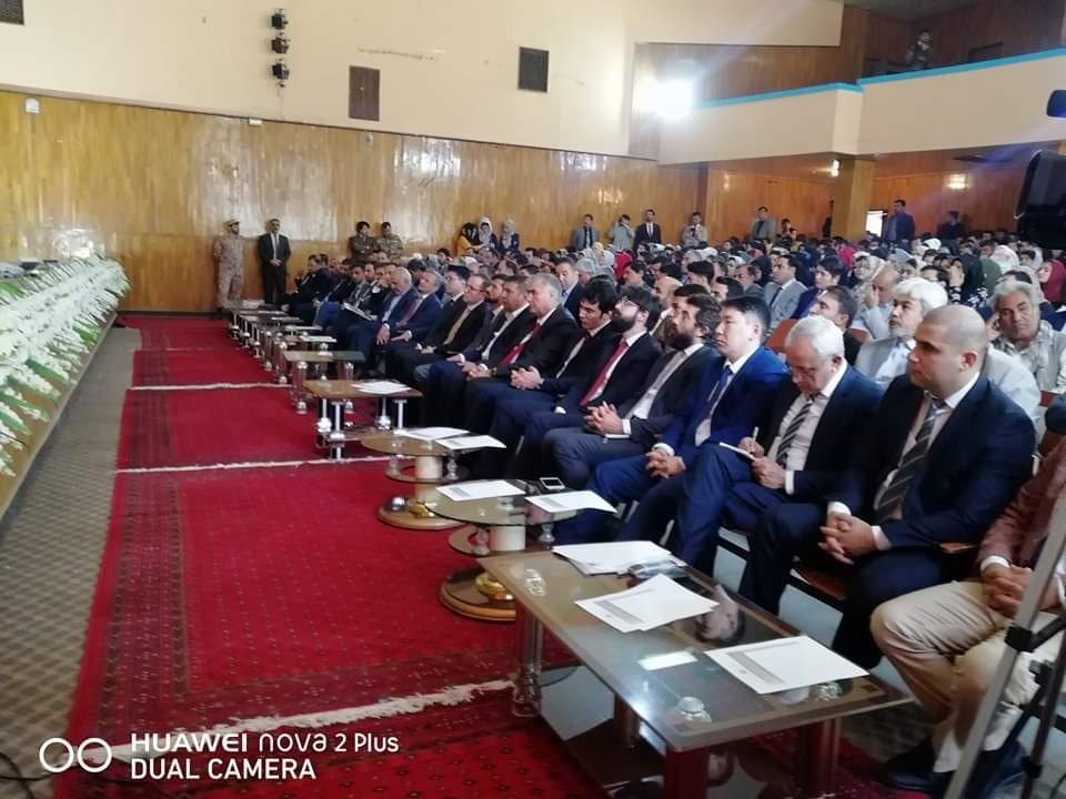 کنفرانس بلخ نقطه وصل افغانستان با آسیای مرکزی